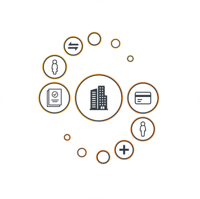 Integrations and solutions icons